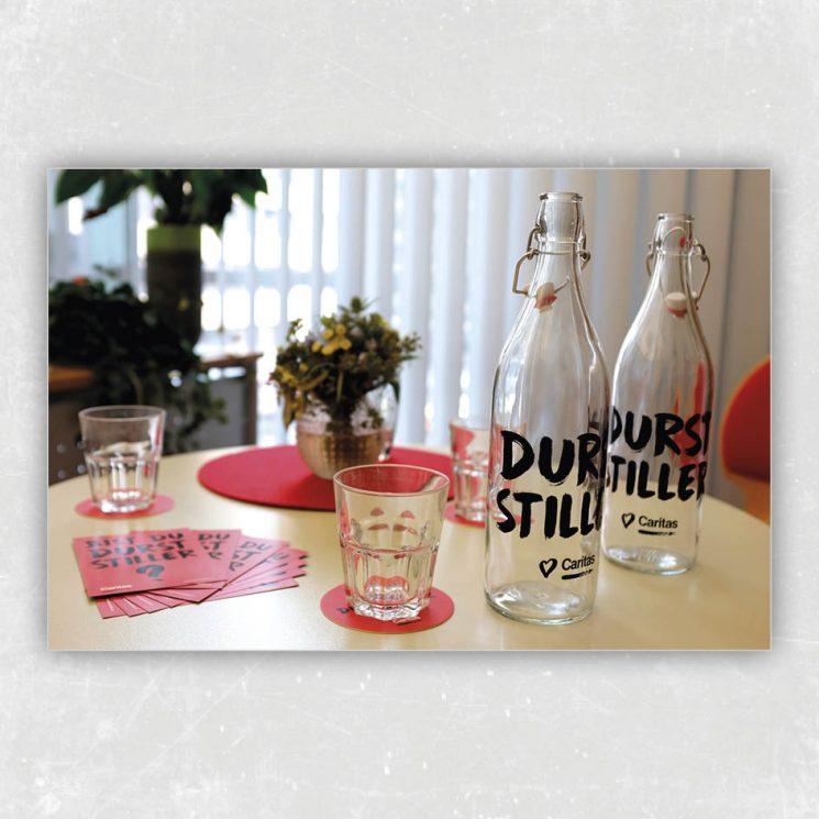 durststiller-glassflasche